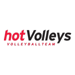 HotVolleys Wien Volleyball Team Logo